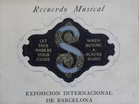 Musica y la Exposicion Internationale de Barcelona