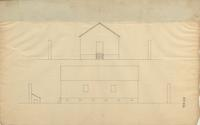 E. I. du Pont Drawings of Powder Mills and Machinery, No. 063, Magazine