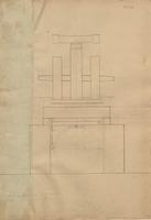 E. I. du Pont Drawings of Powder Mills and Machinery, No. 039, Wheel Mill