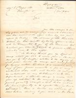 Correspondence, William Simmons to E.I. du Pont de Nemours and Company, 1812-12-09