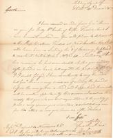Correspondence, William Linnard to E. I. du Pont de Nemours and Company, 1807-12-31