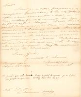 Correspondence, Tench Coxe, Purveyor of Public Supplies, to E.I. du Pont de Nemours and Company, 1812-04-23