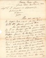 Correspondence, General John Mason, Superintendent of Indian Trade, to E. I. du Pont de Nemours and Company, 1810-03-30