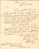 Correspondence, General John Mason, Superintendent of Indian Trade, to E. I. du Pont de Nemours and Company, 1812-04-06