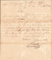 Correspondence, General John Mason, Superintendent of Indian Trade, to E. I. du Pont de Nemours and Company, 1812-05-16