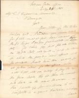 Correspondence, General John Mason, Superintendent of Indian Trade, to E. I. du Pont de Nemours and Company, 1810-02-26