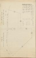 Map, Survey, and Remarks on Constructing the Lower Yard, 1836, n.d.