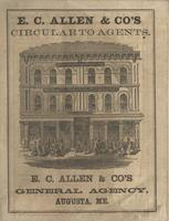 E.C. Allen & Co.'s Circular to Agents
