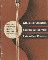 Allis-Chalmers Continuous Solvent Extraction Process