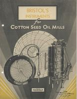 Bristol's Instruments for Cotton Seed Oil Mills