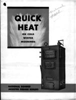 Quick heat on cold winter mornings : national bonded jacketed square boilers