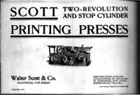 Scott Two-Revolution and Stop Cylinder Printing Presses