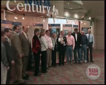 2006 Nada Century Award celebrating multi-generational dealership owners