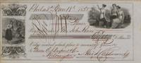 Check, Andrew J. Catherwood to John Rowe, 1850-11-18