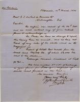 Correspondence, Graham, Rowe and Company to E. I. du Pont de Nemours and Company, 1881-03-14