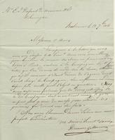 Correspondence, Descaves and Mercier to E. I. du Pont de Nemours and Company, 1816-09-13