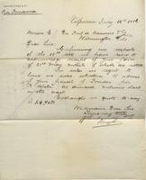Correspondence, Graham, Rowe and Company to E. I. du Pont de Nemours and Company, 1886-07-16