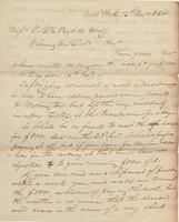 Correspondence, William Kemble to E. I. du Pont de Nemours and Company, 1820-11-14