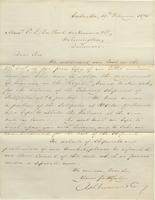 Correspondence, Ashburner and Company to E. I. du Pont de Nemours and Company, 1875-02-19