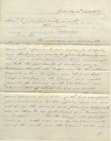 Correspondence, Ashburner and Company to E. I. du Pont de Nemours and Company, 1877-09-04