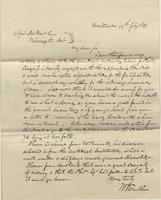 Correspondence, William Kemble to E. I. du Pont de Nemours and Company, 1841-02-19