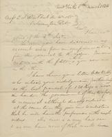Correspondence, William Kemble to E. I. du Pont de Nemours and Company, 1824-03-08