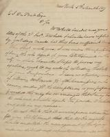 Correspondence, William Kemble to E. I. du Pont de Nemours and Company, 1819-03-05