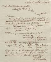 Correspondence, William Kemble to E. I. du Pont de Nemours and Company, 1828-03-24