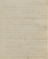 Correspondence, William Kemble to E. I. du Pont de Nemours and Company, 1824-01-15