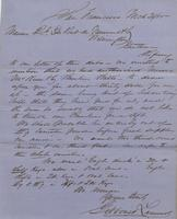 Correspondence, Gibbons and Lammot to E. I. du Pont de Nemours and Company, 1855-03-31