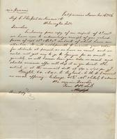 Correspondence, Alsop and Company to E. I. du Pont de Nemours and Company, 1861-11-16