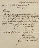 Correspondence, Grinnell, Minturn & Co. to E. I. du Pont de Nemours and Company, 1855-09-20
