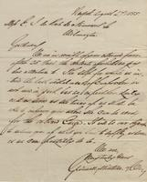 Correspondence, Grinnell, Minturn & Co. to E. I. du Pont de Nemours and Company, 1855-08-27