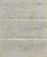 Correspondence, Ashburner and Company to E. I. du Pont de Nemours and Company, 1857-05-01