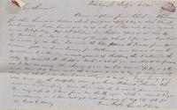 Correspondence, George Berry to E. I. du Pont de Nemours and Company, 1845-07-01
