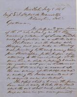 Correspondence, Grinnell, Minturn & Co. to E. I. du Pont de Nemours and Company, 1856-07-08