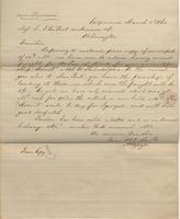 Correspondence, Alsop and Company to E. I. du Pont de Nemours and Company, 1862-03-03