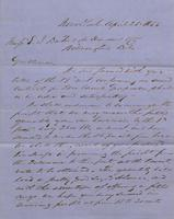Correspondence, Grinnell, Minturn & Co. to E. I. du Pont de Nemours and Company, 1855-04-21