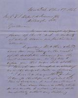 Correspondence, Grinnell, Minturn & Co. to E. I. du Pont de Nemours and Company, 1856-04-19
