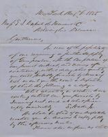 Correspondence, Grinnell, Minturn & Co. to E. I. du Pont de Nemours and Company, 1855-08-06