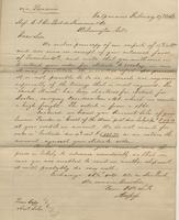 Correspondence, Alsop and Company to E. I. du Pont de Nemours and Company, 1862-02-17
