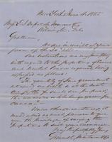 Correspondence, Grinnell, Minturn & Co. to E. I. du Pont de Nemours and Company, 1855-06-04