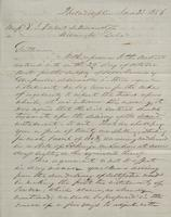 Correspondence, Grinnell, Minturn & Co. to E. I. du Pont de Nemours and Company, 1856-06-23