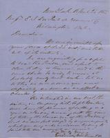Correspondence, Grinnell, Minturn & Co. to E. I. du Pont de Nemours and Company, 1855-04-25