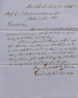 Correspondence, Grinnell, Minturn & Co. to E. I. du Pont de Nemours and Company, 1855-07-21