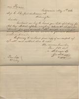 Correspondence, Alsop and Company to E. I. du Pont de Nemours and Company, 1862-05-01