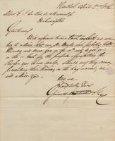 Correspondence, Grinnell, Minturn & Co. to E. I. du Pont de Nemours and Company, 1856-04-02
