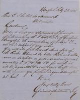 Correspondence, Grinnell, Minturn & Co. to E. I. du Pont de Nemours and Company, 1856-07-28