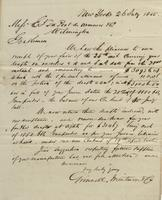 Correspondence, Grinnell, Minturn & Co. to E. I. du Pont de Nemours and Company, 1855-07-26