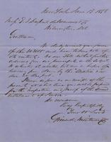 Correspondence, Grinnell, Minturn & Co. to E. I. du Pont de Nemours and Company, 1856-06-13